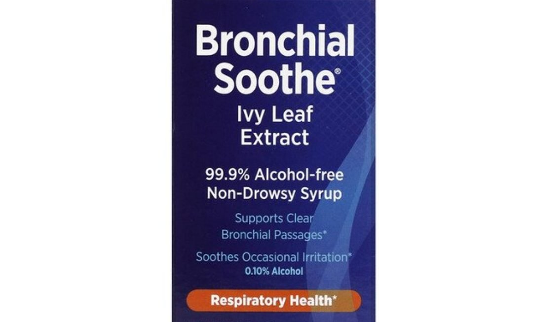 Bronchial Soothe Ivy Leaf 99.9% Alcohol-Free Syrup